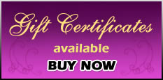 Inquire about our Holiday Gift Certificates